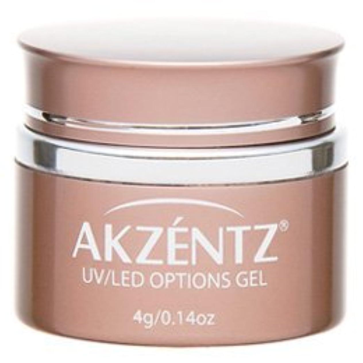の間に勤勉な付与AKZENTZ(アクセンツ) UV/LED オプションズ クリアジェル 4g