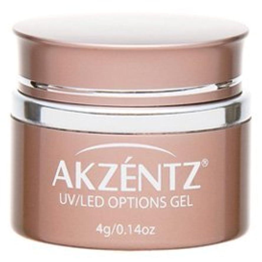 チョコレートチャンバー状AKZENTZ(アクセンツ) UV/LED オプションズ クリアジェル 4g