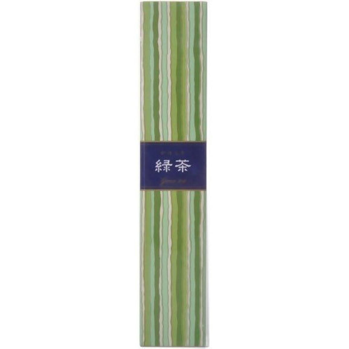遺産微妙強要【セット品】かゆらぎ 緑茶 スティック40本入 香立付 ×3個