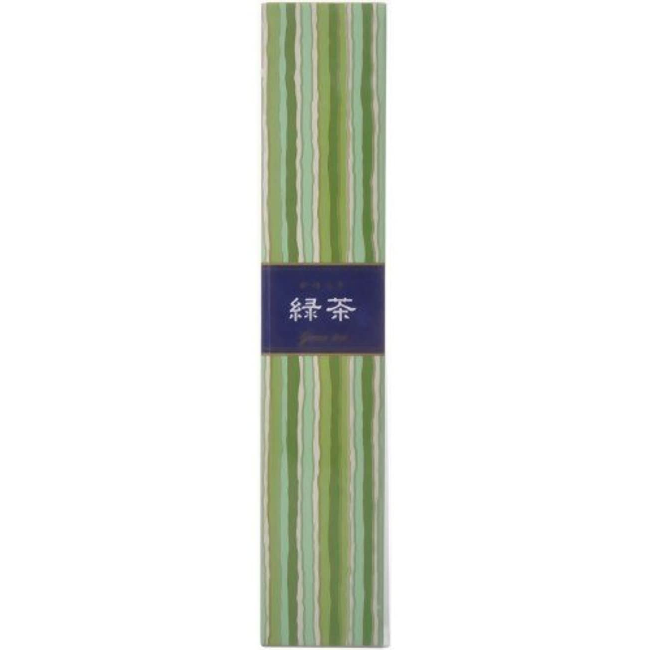 未亡人子犬ポインタ【セット品】かゆらぎ 緑茶 スティック40本入 香立付 ×3個