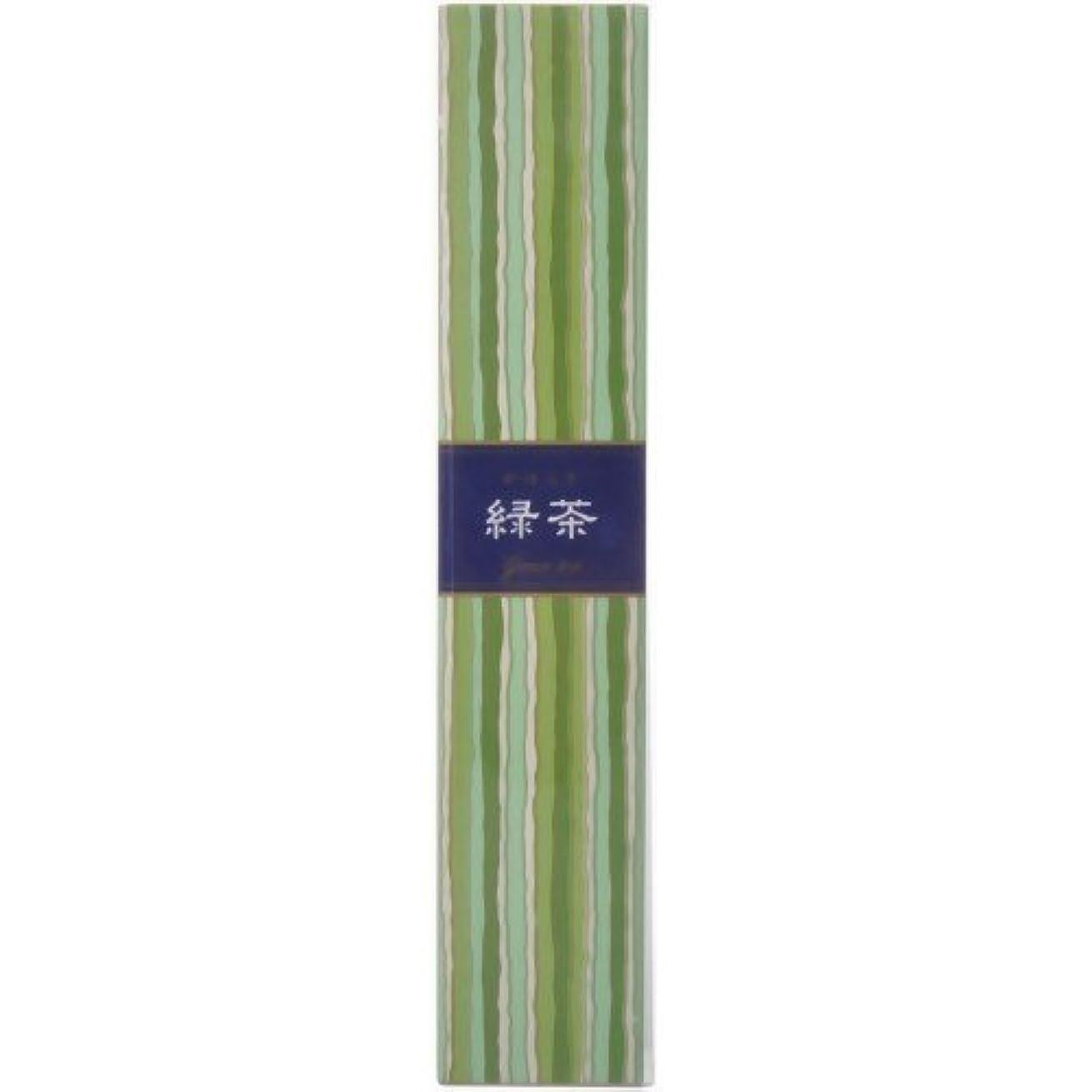 肥満料理をする小麦粉【セット品】かゆらぎ 緑茶 スティック40本入 香立付 ×3個