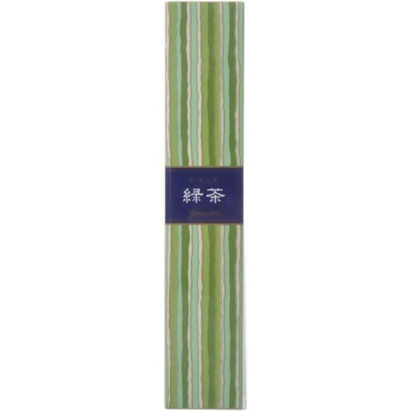 スペル前任者八百屋さん【セット品】かゆらぎ 緑茶 スティック40本入 香立付 ×3個