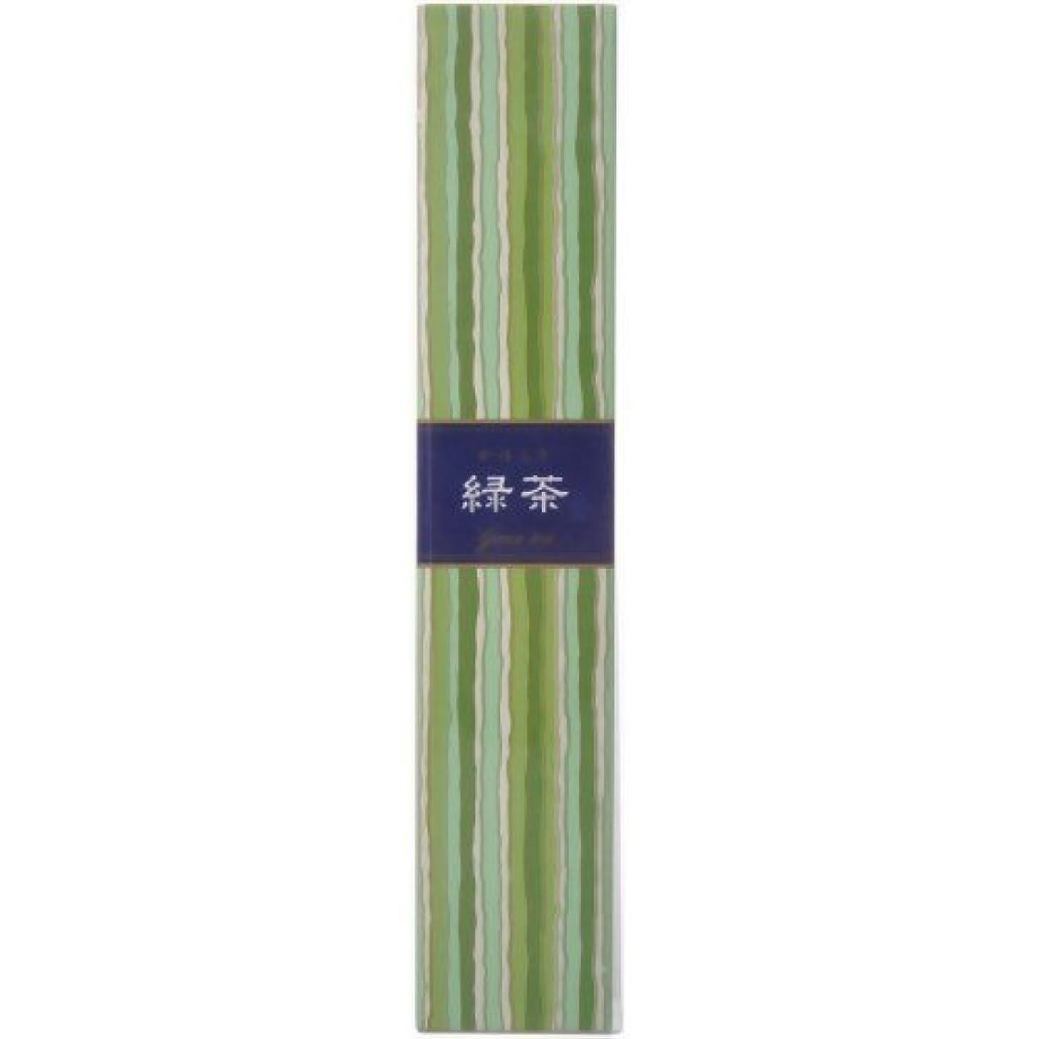 大声で膨張するペレグリネーションかゆらぎ スティック 緑茶40本 × 10個セット