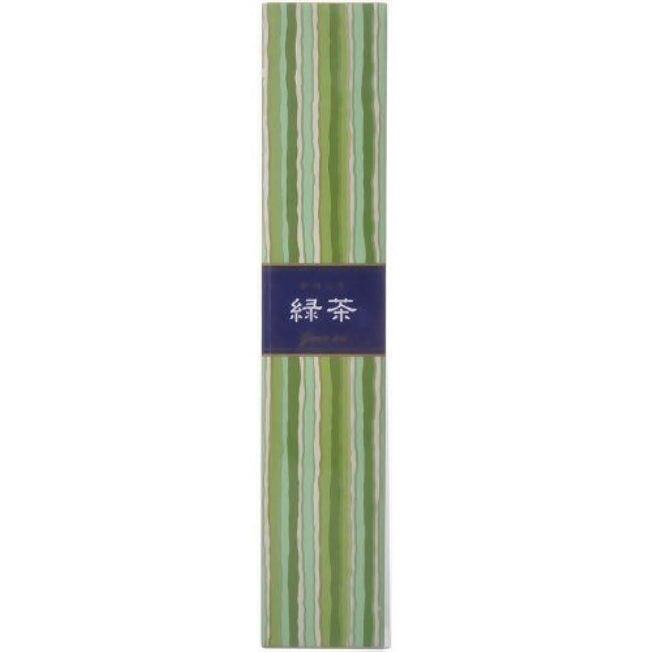 軽蔑試す移行かゆらぎ スティック 緑茶40本 × 10個セット