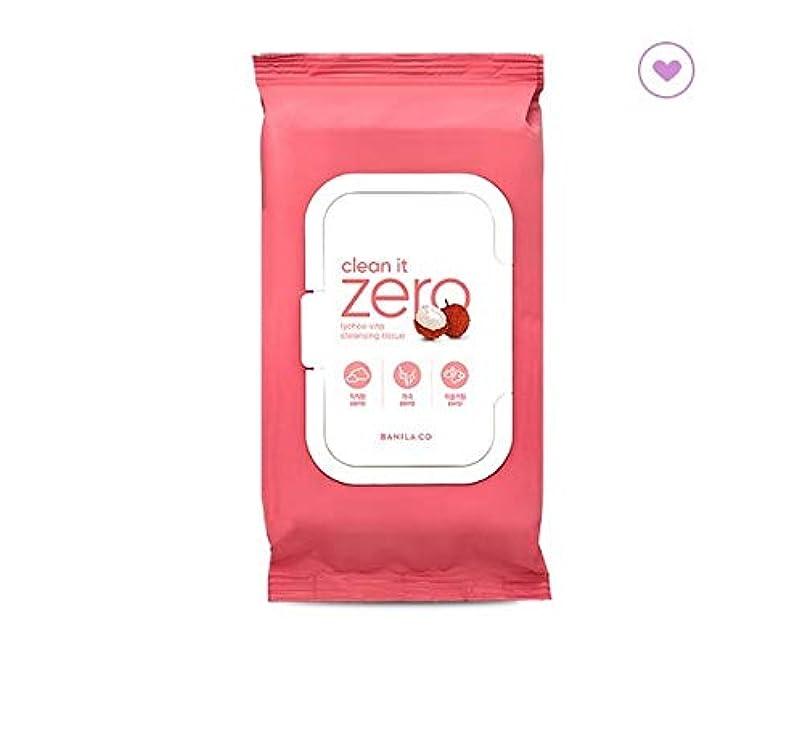 四回高潔な芝生banilaco クリーンイットゼロライチヴィータクレンジングティッシュ80枚 / Clean It Zero Lychee Vita Cleansing Tissue 80 sheets (430g) [並行輸入品]