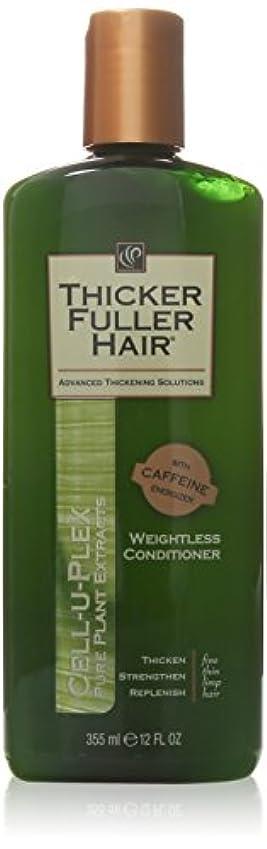 テンポ研究鳥Thicker Fuller Hair Weightless Conditioner Cell-U-Plex, 12 Ounce by Thicker Fuller