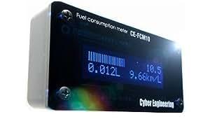 Cyber Engineering マルチ燃費メーター CE-FCM10 (多くの耐久レーシングチームが採用!インジェクター信号から演算する本格派!)