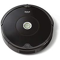 【30日間お試しOK】ルンバ 606 アイロボット ロボット掃除機 高速応答プロセスiAdapt搭載 ゴミ検知センサー 自動充電 ペットの毛 フローリング 畳にも ブラック R606060