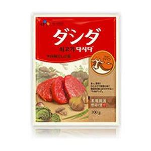 韓国の調味料 ダシダ 牛肉味だしの素 100g×4袋お試しセット