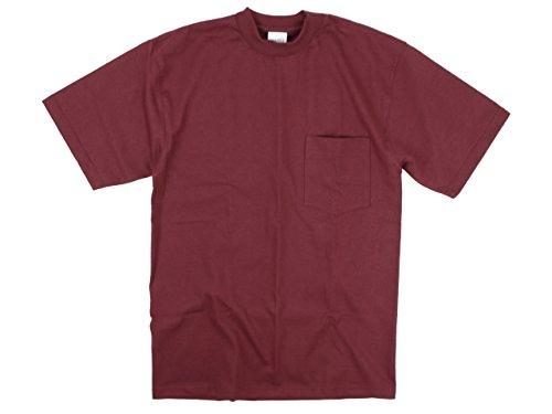 キャンバー CAMBER 302 半袖Tシャツ マックスウェイト ポケット TEE バーガンディ MADE IN USA S