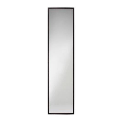 IKEA(イケア) STAVE ブラックブラウン 40x160 cm 60172772 ミラー、ブラックブラウン
