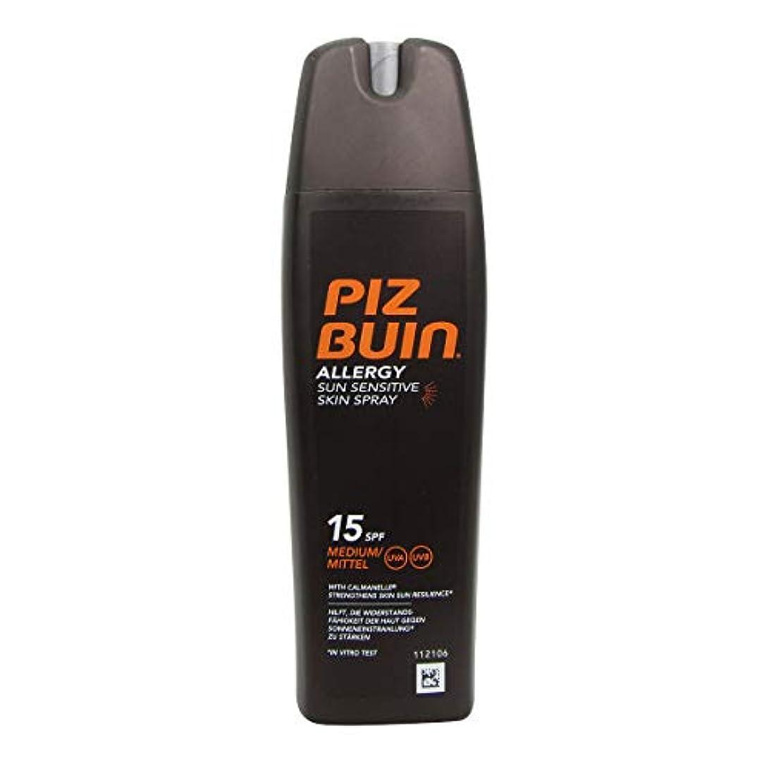 南極差し控えるヘッドレスPiz Buin Allergy Sensitive Skin Spray Spf15 200ml [並行輸入品]