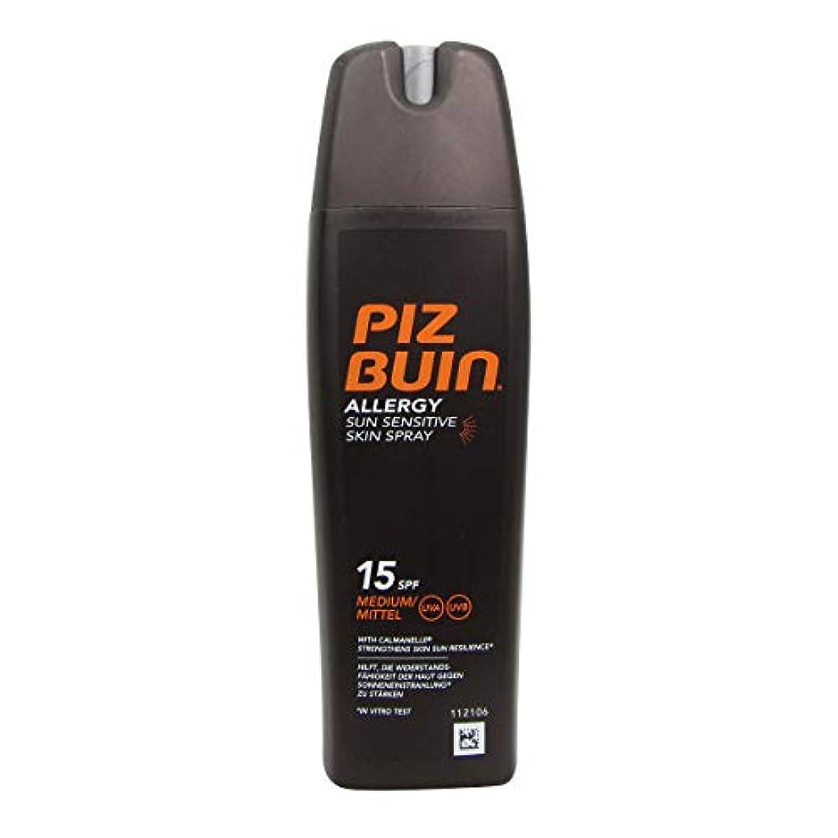 冷凍庫順番陪審Piz Buin Allergy Sensitive Skin Spray Spf15 200ml [並行輸入品]