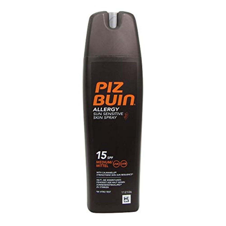 口径偏差ローマ人Piz Buin Allergy Sensitive Skin Spray Spf15 200ml [並行輸入品]