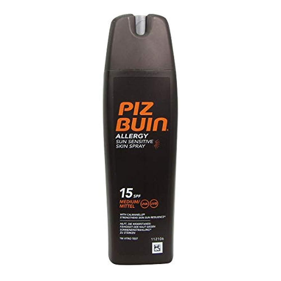 保存する軍団ルーチンPiz Buin Allergy Sensitive Skin Spray Spf15 200ml [並行輸入品]