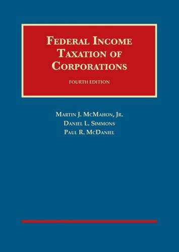 Download Federal Income Taxation of Corporations (University Casebook) 1609301897