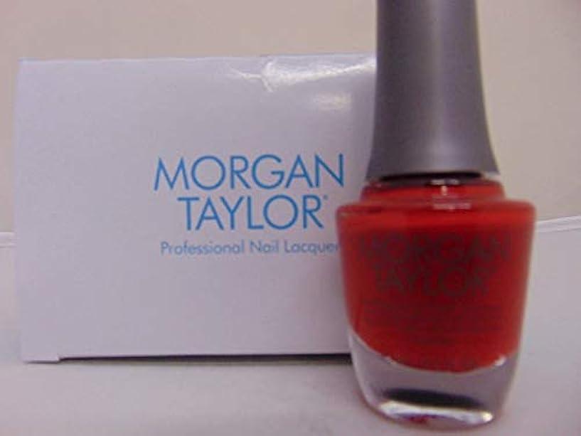振動させる実行可能パラシュートMorgan Taylor - Professional Nail Lacquer - Scandalous - 15 mL / 0.5oz