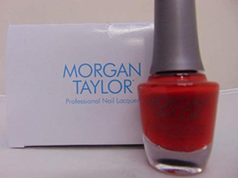 並外れてガソリン民族主義Morgan Taylor - Professional Nail Lacquer - Scandalous - 15 mL / 0.5oz