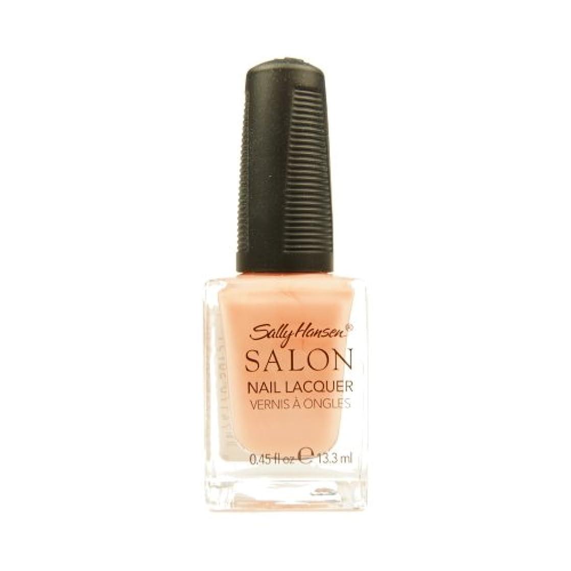 お風呂シンカンフロントSALLY HANSEN Salon Nail Lacquer 4120 - Peachful Breeze (並行輸入品)