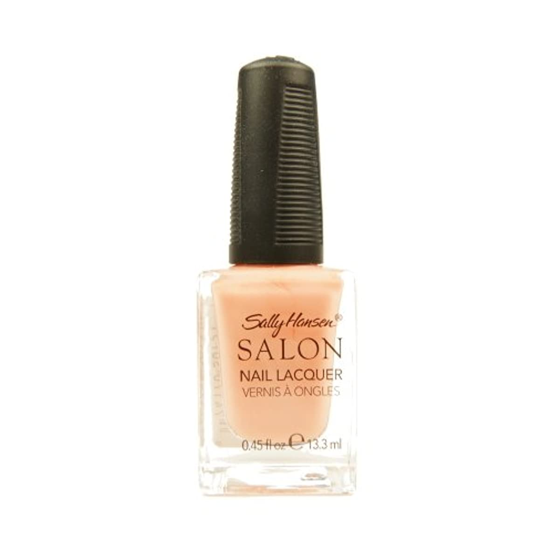 柔和インフルエンザ立法SALLY HANSEN Salon Nail Lacquer 4120 - Peachful Breeze (並行輸入品)
