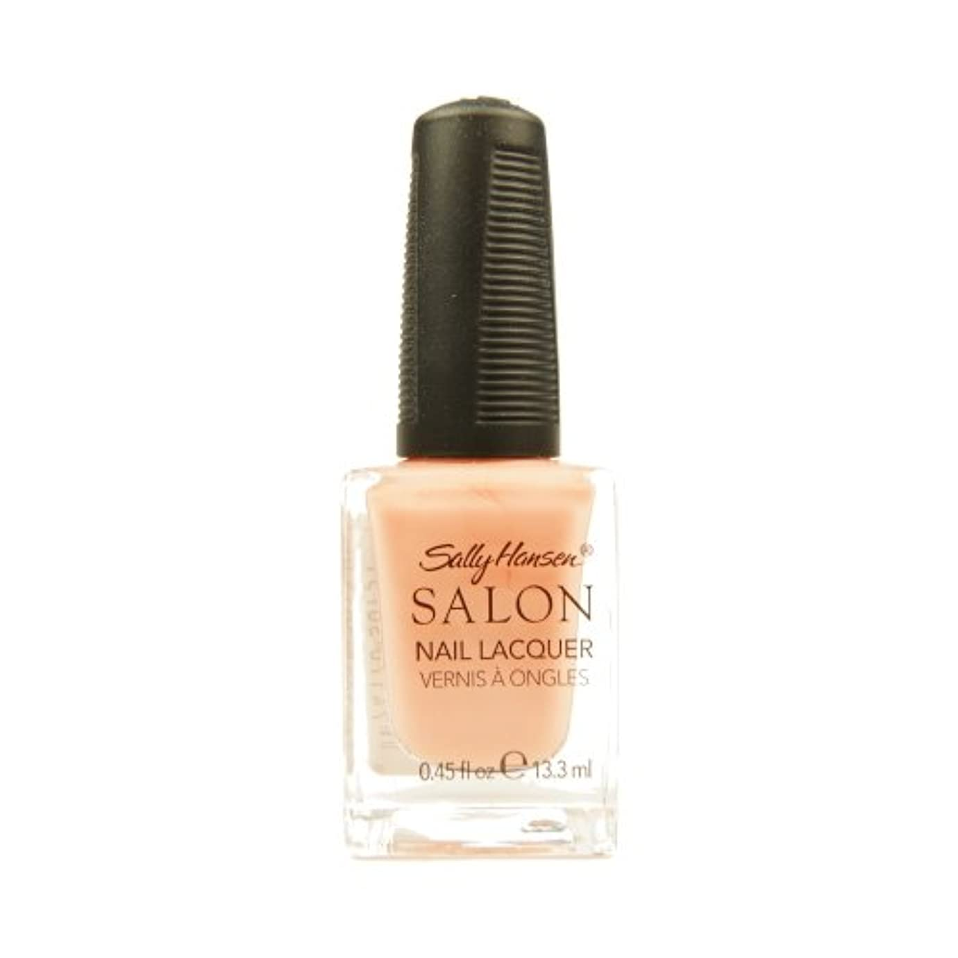 結紮ゆるくコートSALLY HANSEN Salon Nail Lacquer 4120 - Peachful Breeze (並行輸入品)