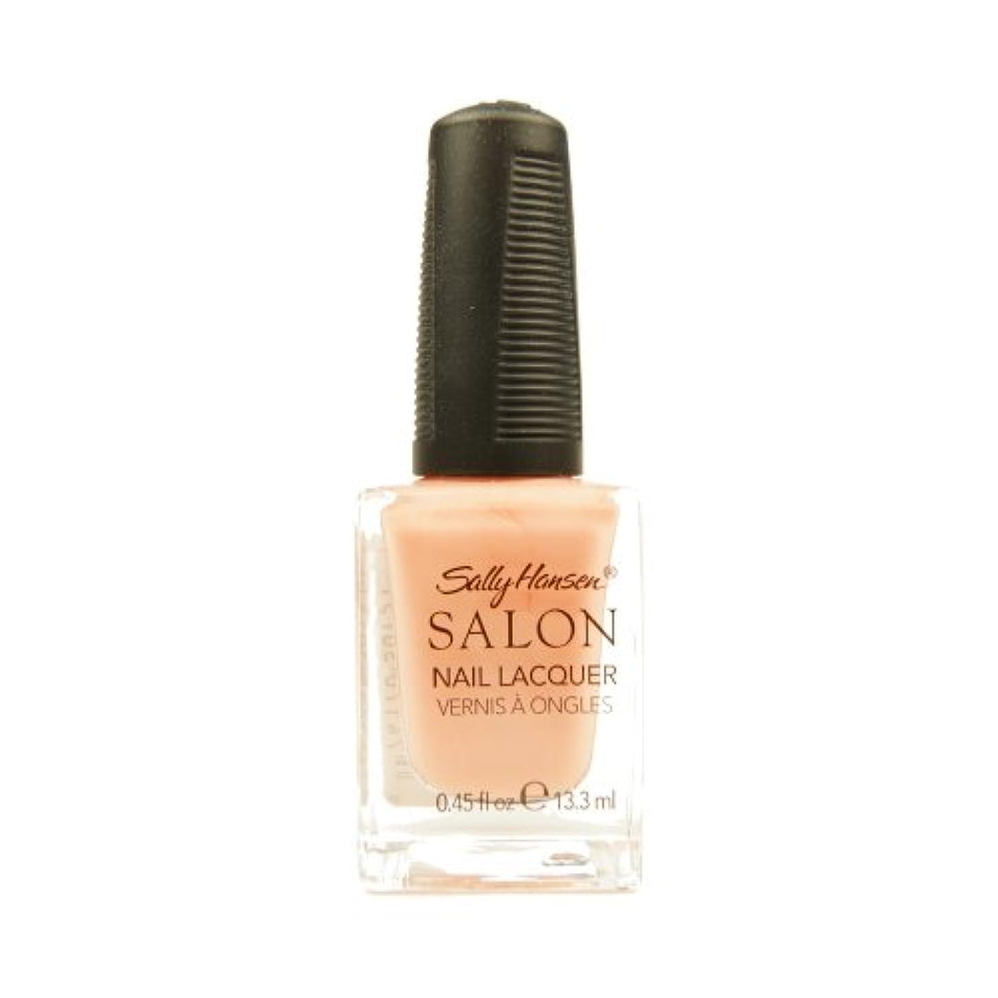 シフト冊子サラミSALLY HANSEN Salon Nail Lacquer 4120 - Peachful Breeze (並行輸入品)