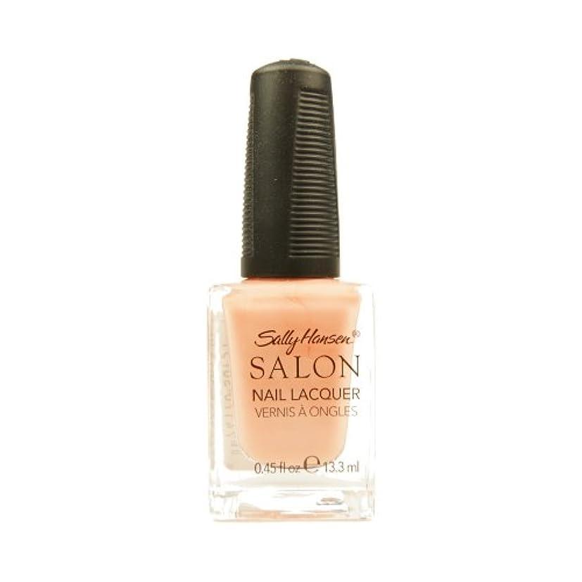 前投薬拷問不完全SALLY HANSEN Salon Nail Lacquer 4120 - Peachful Breeze (並行輸入品)