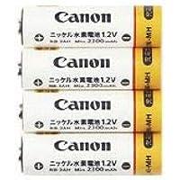 (まとめ)キヤノン ニッケル水素電池NB4-300 1171B001 1セット(4本)【×3セット】 〈簡易梱包
