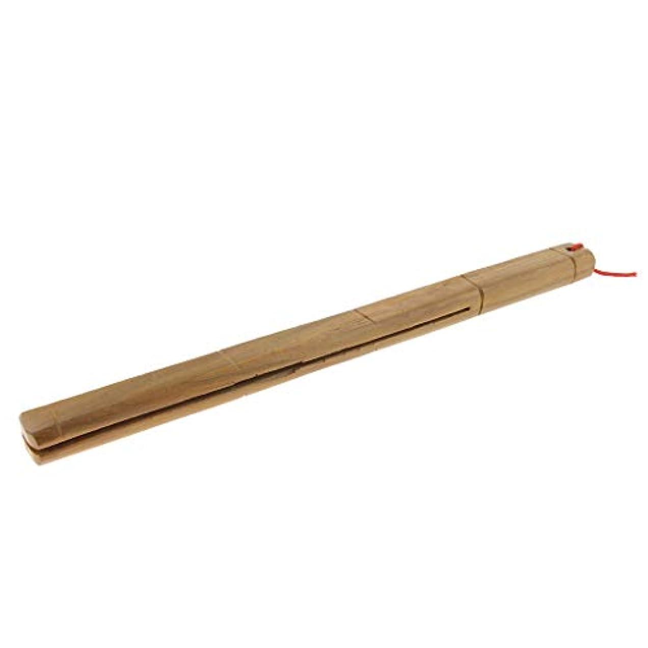 ベール特徴づける針Baoblaze 木製マッサージャー ロングハンドル リラックス
