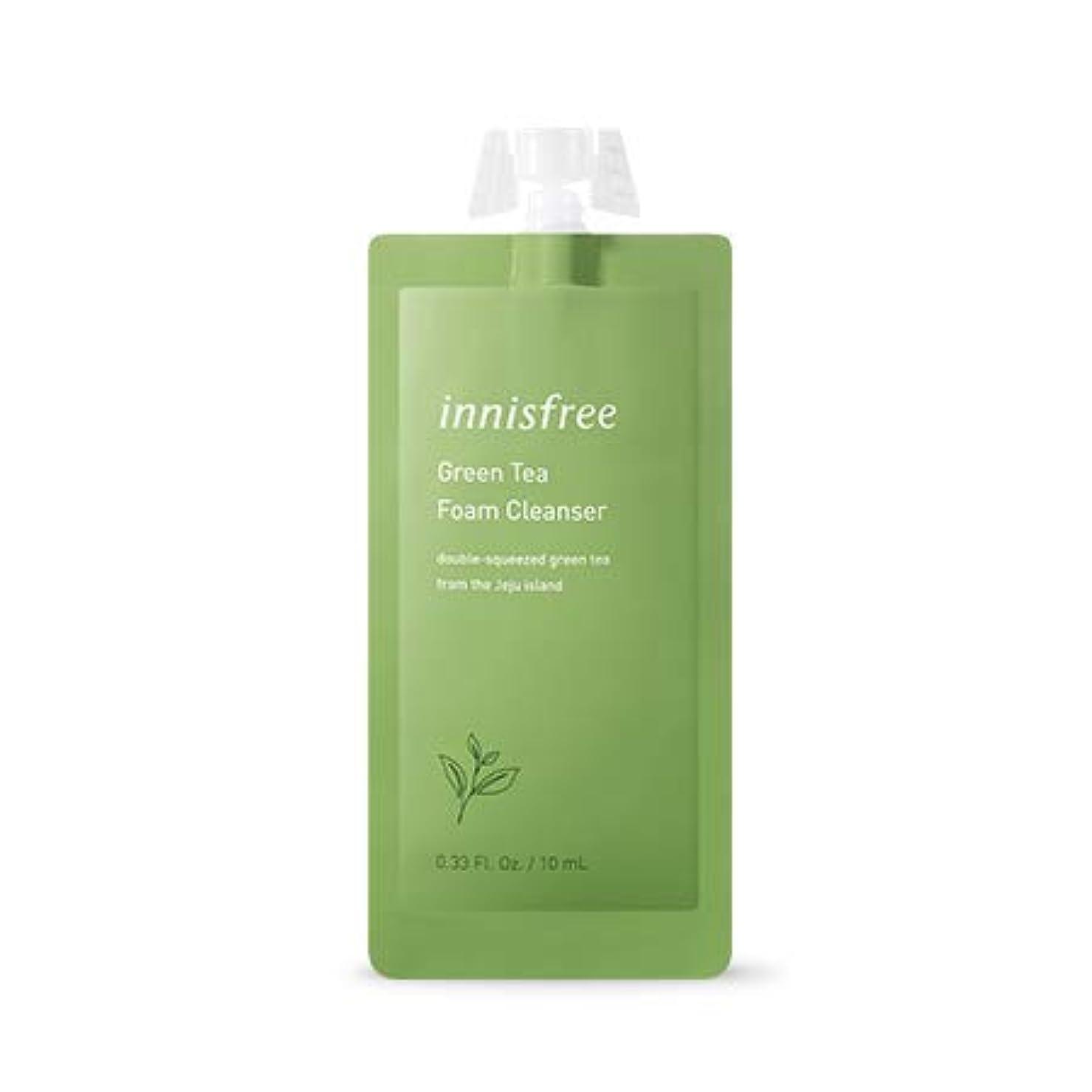 スペルロゴ巨人[イニスフリー.innisfree]グリーンティーフォームクレンザー7DAYS(10mL×5EA)/ Green Tea Foam Cleanser