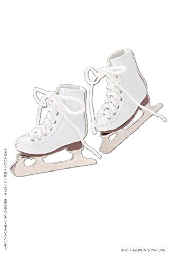 ピュアニーモ用ウェア フィギュアスケート靴 ホワイト (ドール用)