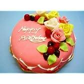 生クリームいちごバースディケーキ 6号冷凍販売バースデーケーキ【バースデーケーキ 誕生日ケーキ デコ】::146
