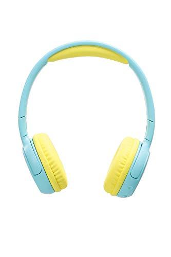SoundPEATS 子供用イヤホン キッズ用ヘッドホン 85dB音量制御機能搭載 聴力保護 知育・学習 音楽/映画/語学勉強 [メーカー1年保証] 折り畳み式 マイク内蔵 密閉型 柔らかい 調整可能 可愛いデザイン 高音質 Bluetooth イヤホン ブルートゥース ヘッドホンイヤホン Bluetooth ヘッドホン ワイヤレス イヤホン キッズ向け ブルー Kids