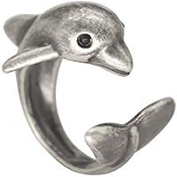Dolphin Animal Wrap Ring Woman Girls Ring Fashion Adjustable Jewelry