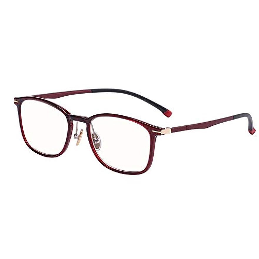 欠乏風刺ホテル老眼鏡、アンチブルーレイレディース老眼鏡、Hd透明レンズ、抗疲労、超軽量デザイン、快適でエレガント、コンピューターのメガネ