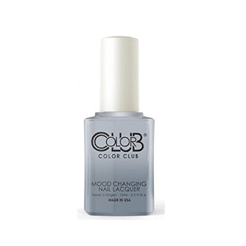 排泄するあえてできないColor Club Mood Changing Nail Lacquer - Head in the Clouds - 15 mL / 0.5 fl oz