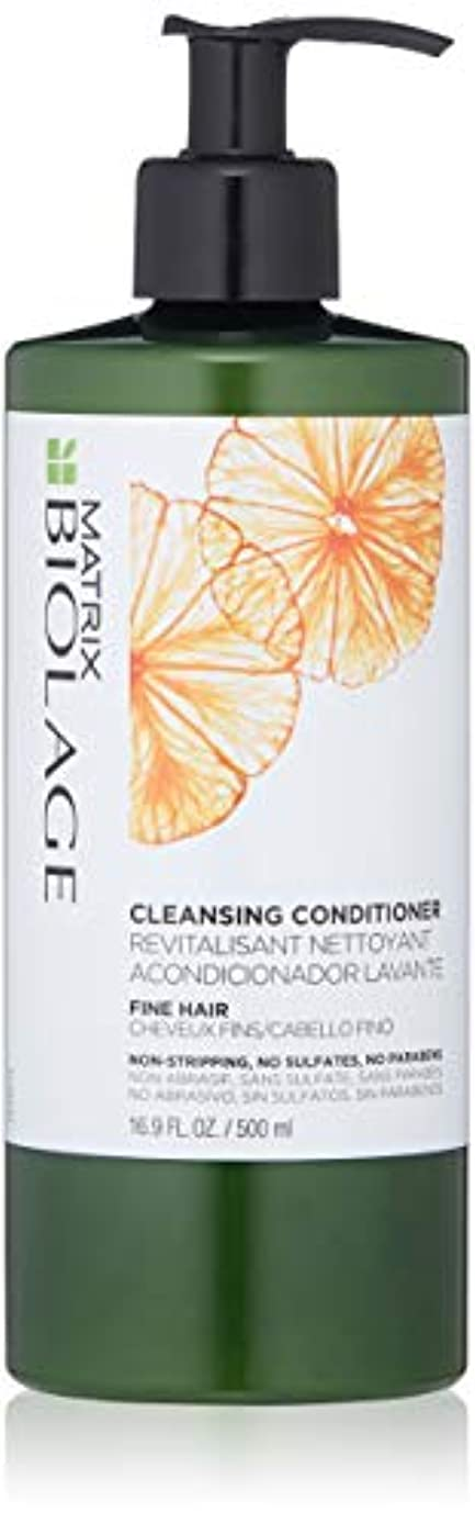 by Matrix CLEANSING CONDITIONER FOR FINE HAIR 16.9 OZ by BIOLAGE