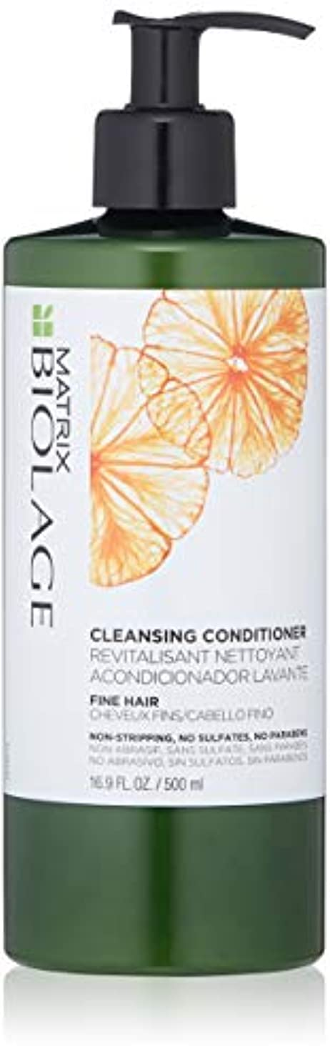 援助する解決エピソードby Matrix CLEANSING CONDITIONER FOR FINE HAIR 16.9 OZ by BIOLAGE
