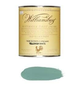自然塗料バターミルクペイント  946ml  #5-9 Dressing Table Blue