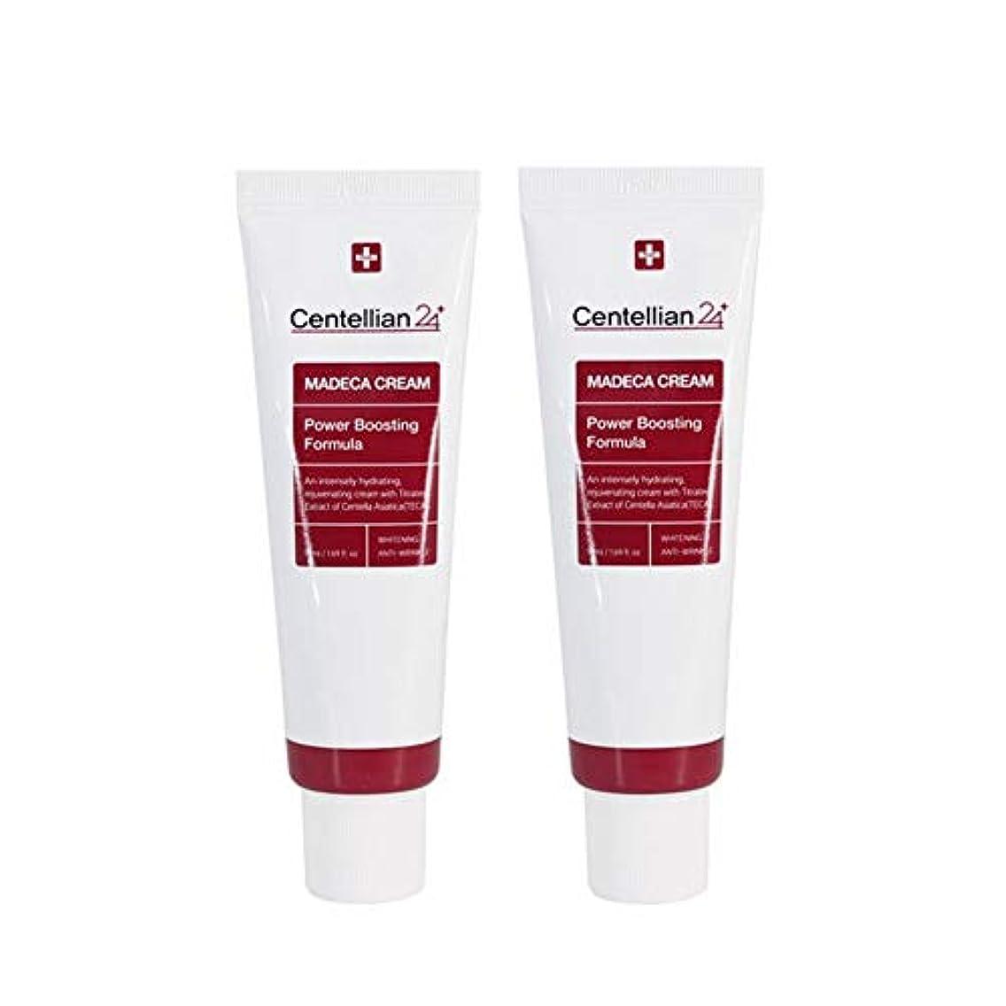 つま先建設勧告センテルリアン24マデカークリームパワーブスティングフォーミュラ50mlx2本セット東国韓国コスメ 、Centellian24 Madeca Cream Power Boosting Formula 50ml x 2ea Set Dongkook Korean Cosmetics [並行輸入品]