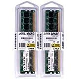 4GBキット( 2x 2GB ) for eMachines ETシリーズデスクトップet1641–02W et1831–01et1831–03et1831–05et1831–07。DIMM ddr2Non - ECC pc2–6400800MHz RAMメモリ。A - Techブランド純正。