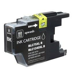2パック新しい品質lc75bk / lc71bkのブラックインクBrother mfc-j280W / j425W / j430W