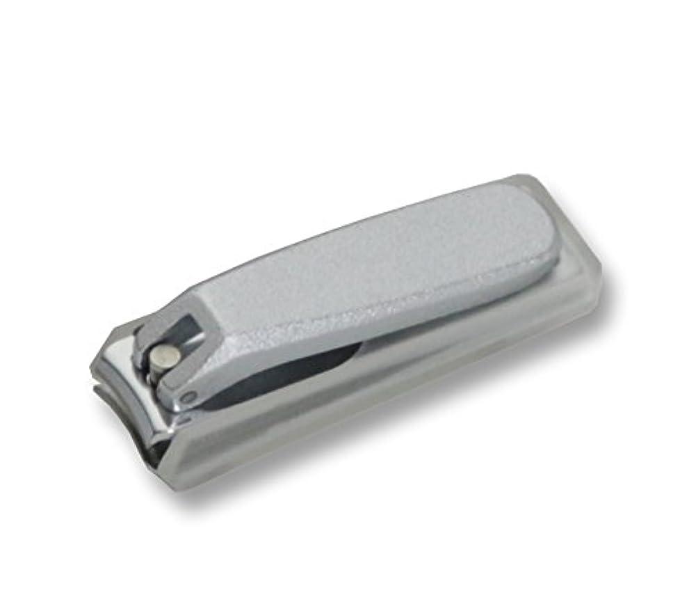 相対サイズ直立寮KD-024 関の刃物 クローム爪切 小 カバー付