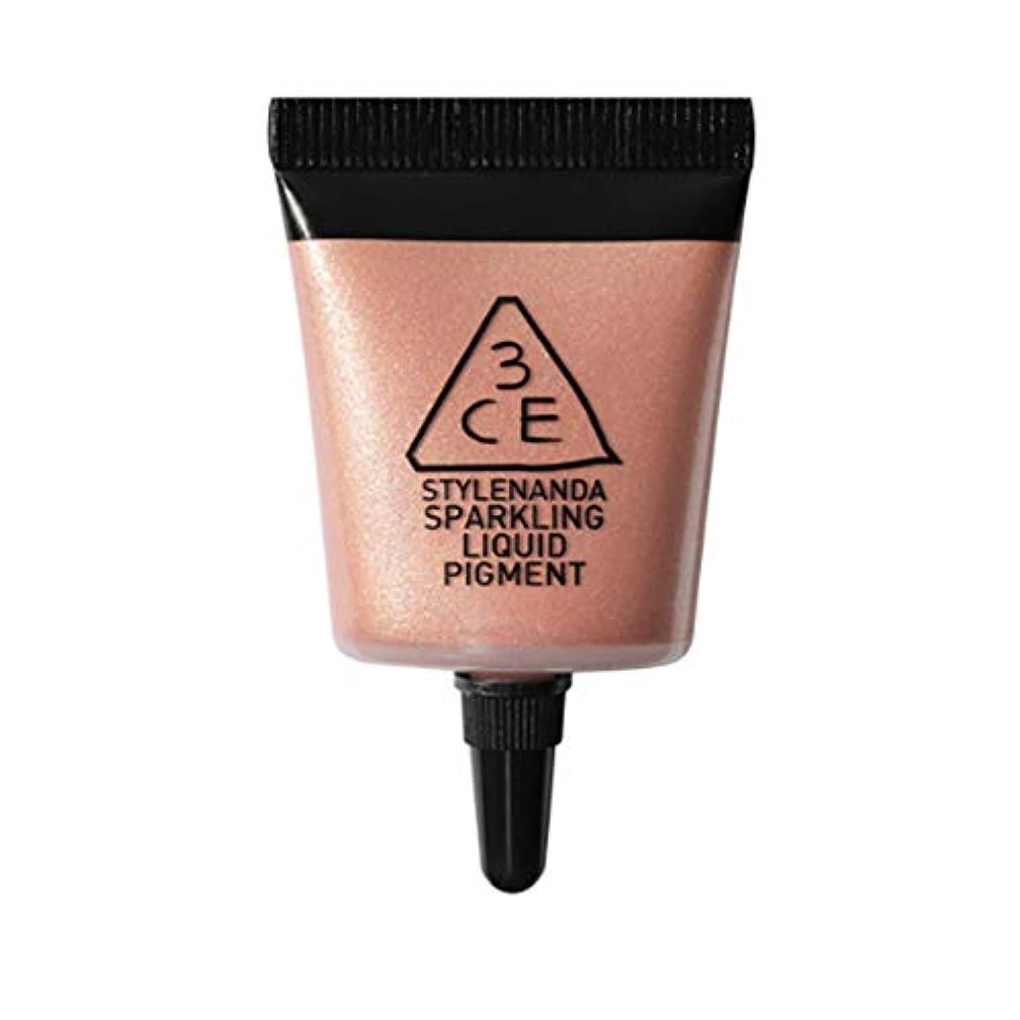 緊張するリッチ熟す[3CE] スパークリング リキッド ピグメント #(Pink Haze) アイシャドー Sparkling Liquid Pigment - Glow Liquid Glitter Eyeshadow Korean Cosmetics...