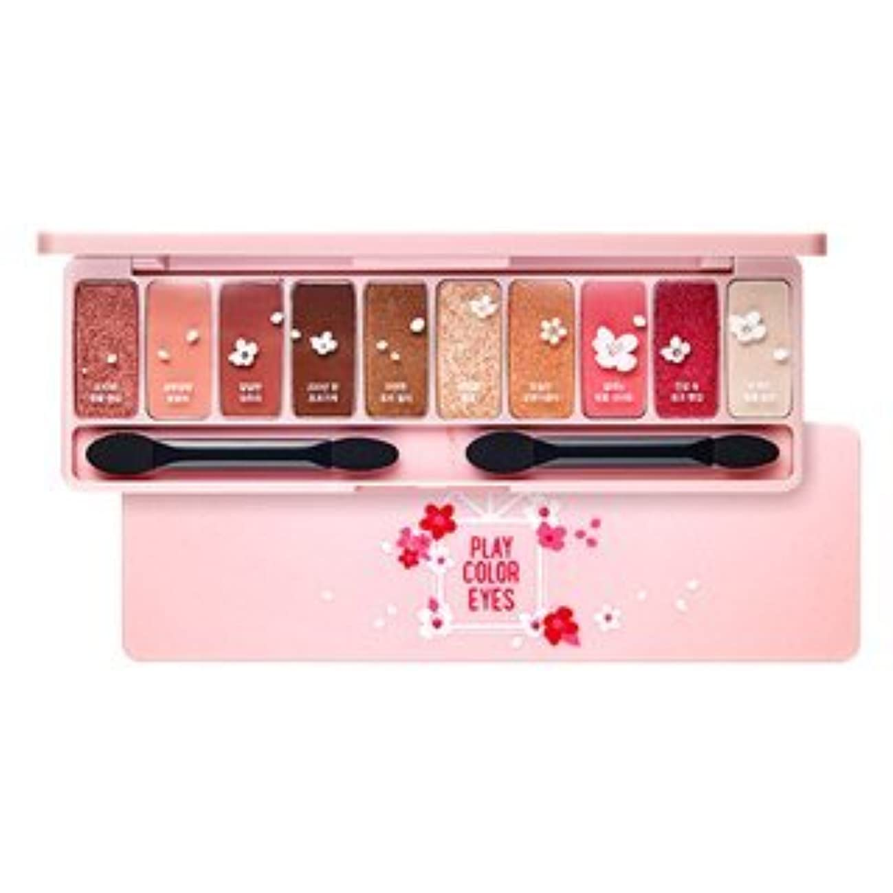 ETUDE HOUSE Play Color Eyes Cherry Blossom / エチュードハウス プレイカラーアイズチェリーブロッサム 1g x10