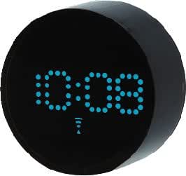 I.D.E.Ainternational 電波LEDドットアラームクロック LCR030-BL LCR030-BL 2190299