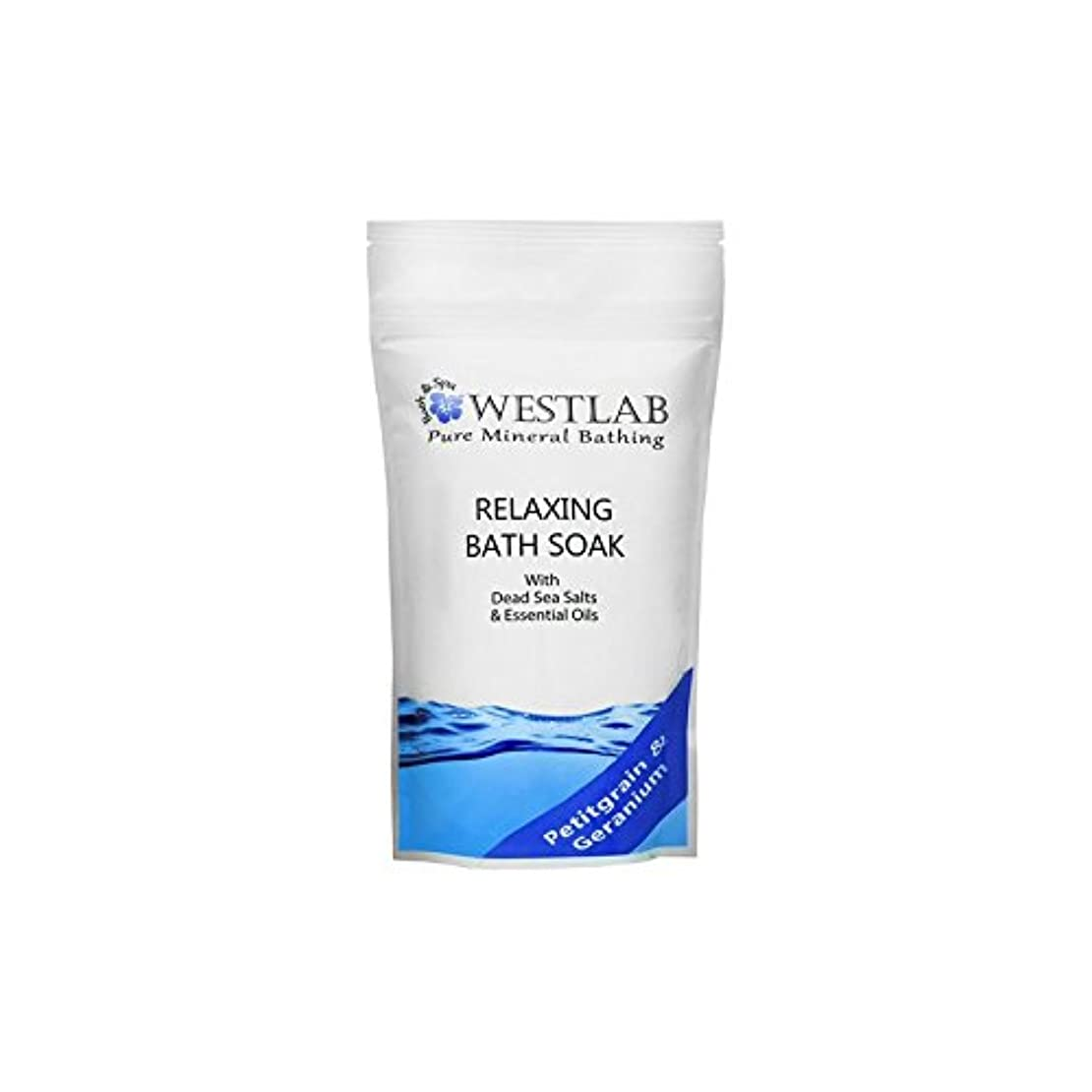 過剰明らかにする凝視死海の塩浴浸漬(500グラム)をリラックス x4 - Westlab Relax Dead Sea Salt Bath Soak (500g) (Pack of 4) [並行輸入品]