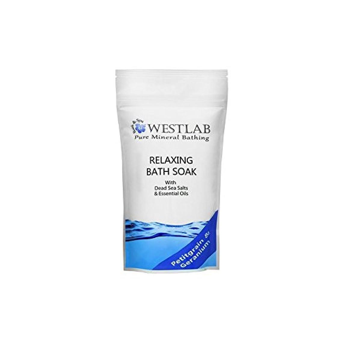 禁じるネコ橋脚Westlab Relax Dead Sea Salt Bath Soak (500g) (Pack of 6) - 死海の塩浴浸漬(500グラム)をリラックス x6 [並行輸入品]