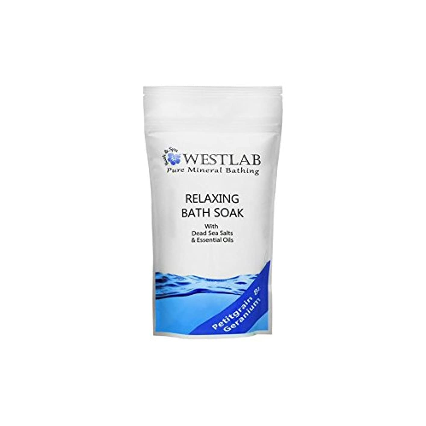 乱闘考え再びWestlab Relax Dead Sea Salt Bath Soak (500g) (Pack of 6) - 死海の塩浴浸漬(500グラム)をリラックス x6 [並行輸入品]