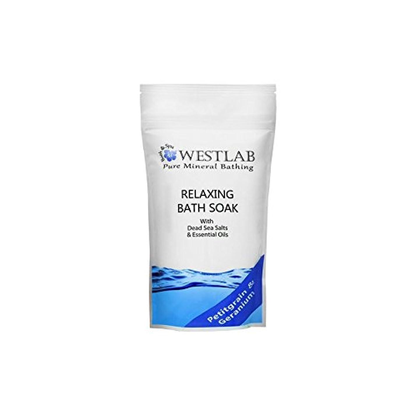 Westlab Relax Dead Sea Salt Bath Soak (500g) (Pack of 6) - 死海の塩浴浸漬(500グラム)をリラックス x6 [並行輸入品]